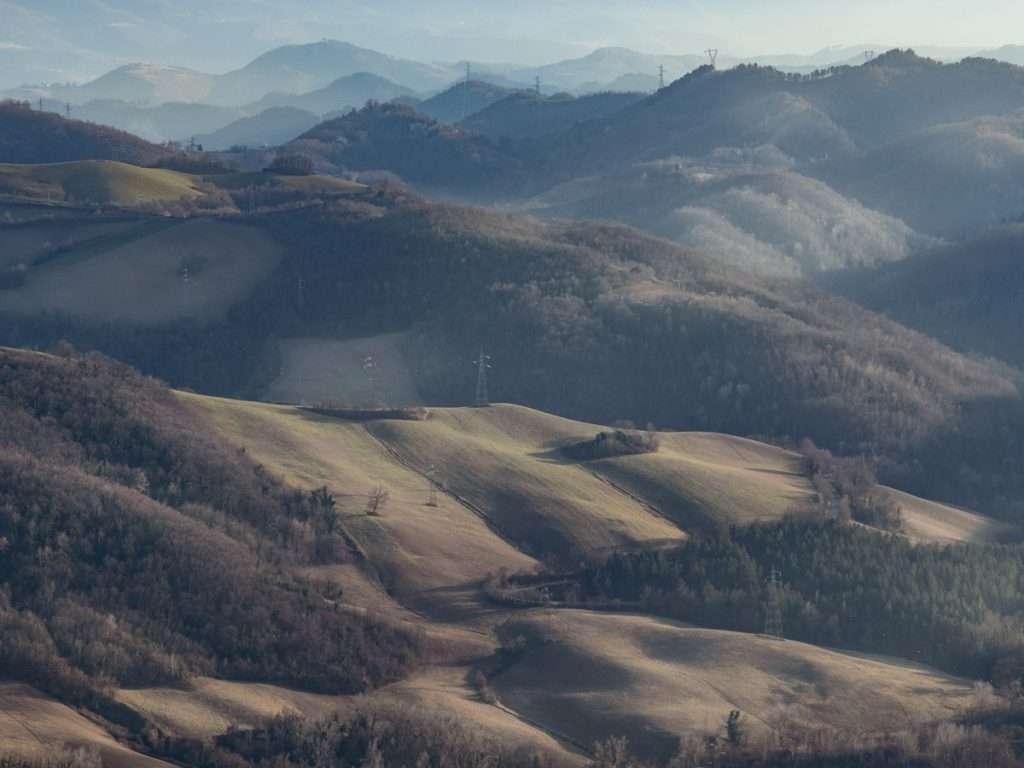 Panorama provincia di Fermo.
