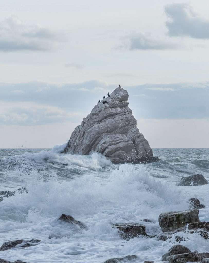 La Vela di Portonovo. Itinerario fotografico dei luoghi più iconici del parco del coneroi