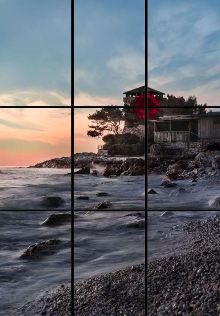 Come creare una buona composizione fotografica:la regola dei Terzi
