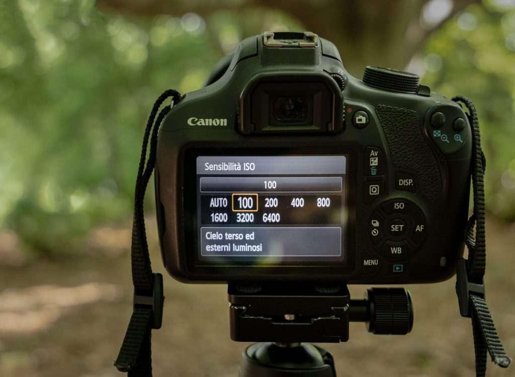 Come scattare foto di paesaggi:imposta il valore degli ISO bassi